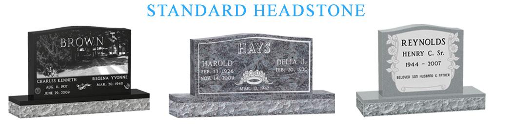 Standard Headstone