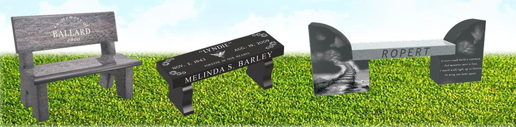 Bench Headstone