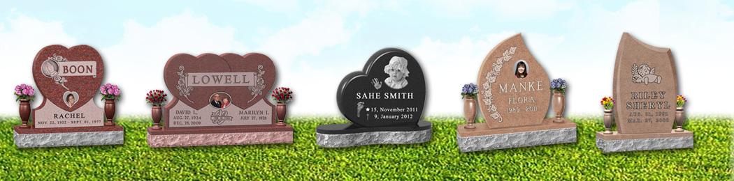 Upright Headstone